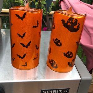 Seasonal Luminaries for Halloween  Ghost Bats